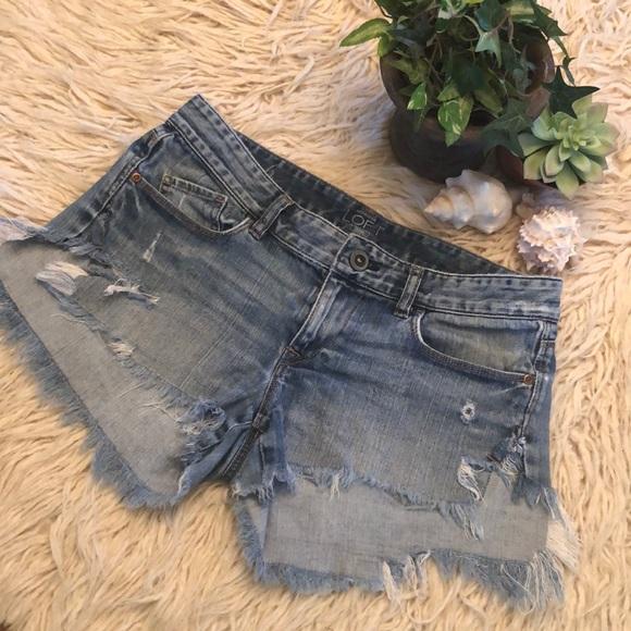 LOFT Pants - Ann Taylor Loft  cutoffs